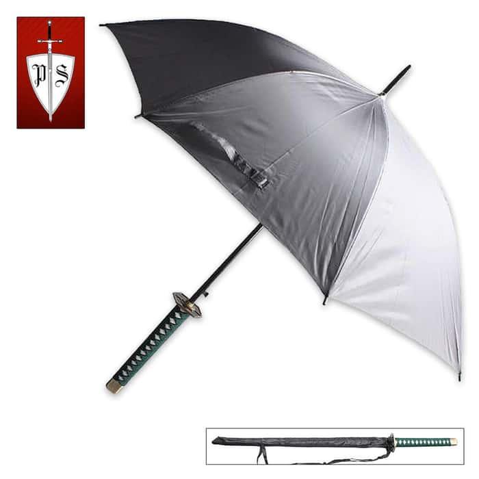Koun (Fortune) Samurai Handle Umbrella