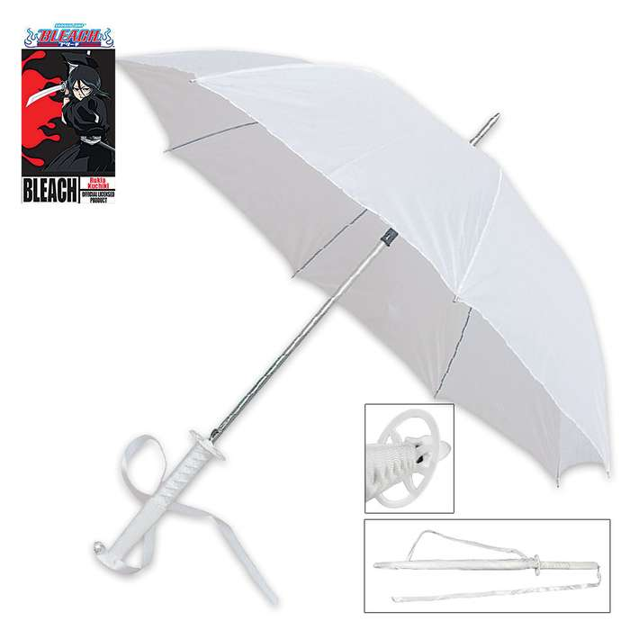 Officially Licensed Bleach Anime Rukia Kuchiki Sword Handle Umbrella