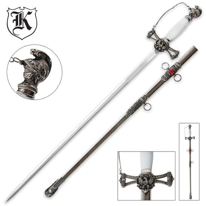 Knights Templar Ceremonial Sword and Scabbard