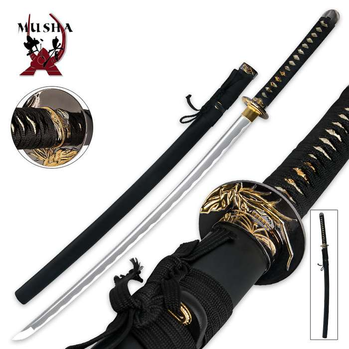 Samurai Special Full-Tang Bamboo Katana Sword
