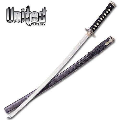 Black Samurai Sword
