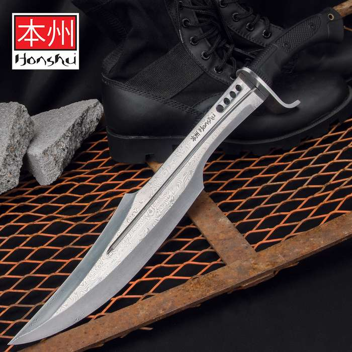 An innovative reimagining of an ancient weapon, this sword is an exceptional addition to Honshu's rock-solid tactical line