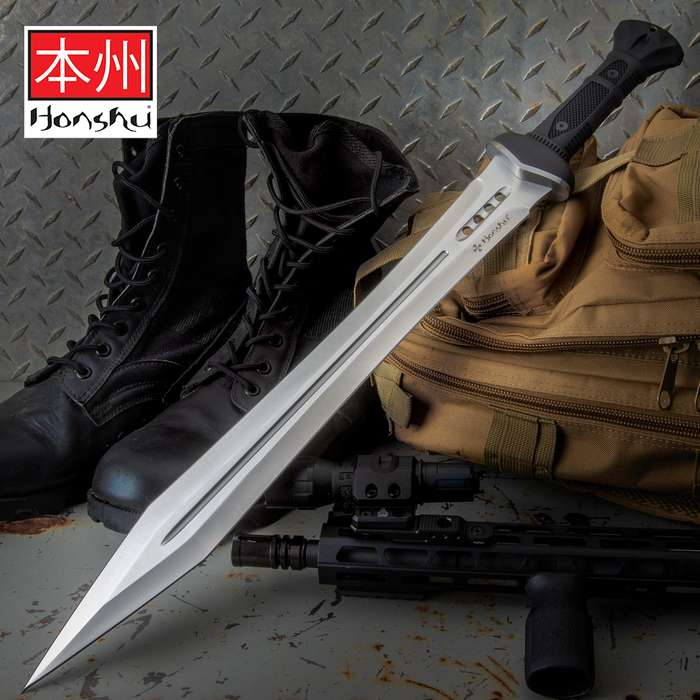 There is no better fusion of traditional ideals with modern innovation than the Honshu Gladiator Sword