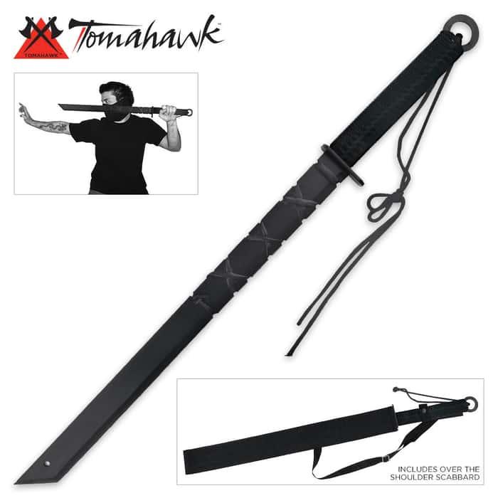 Full Tang Ninja Sword