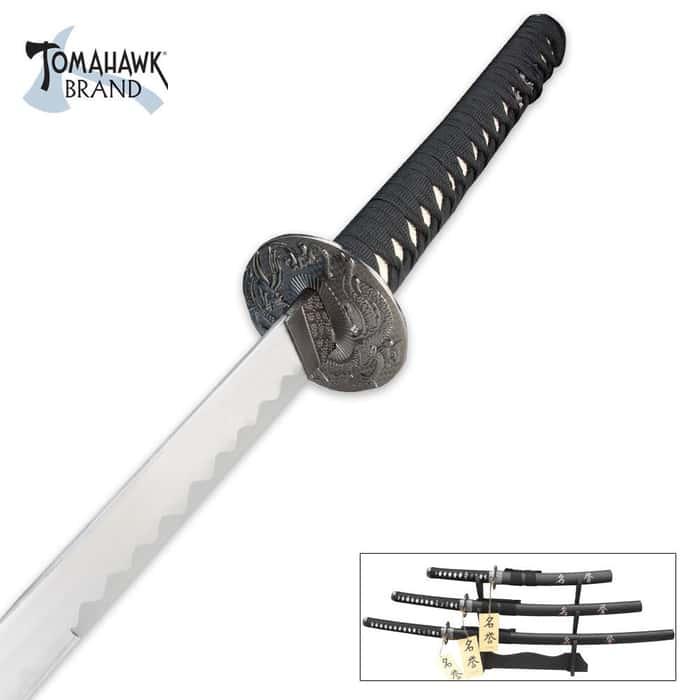 Last Samurai 3 Piece Sword Set