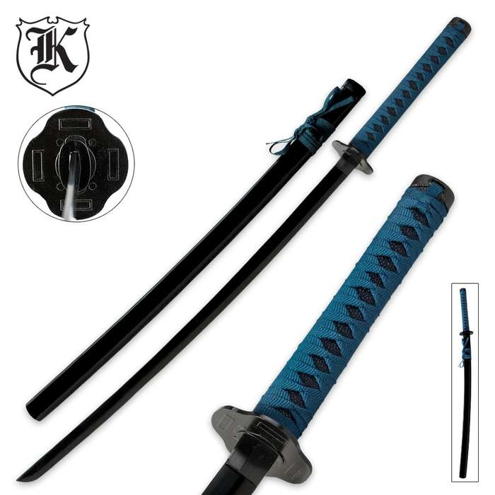 Blue Warrior Katana
