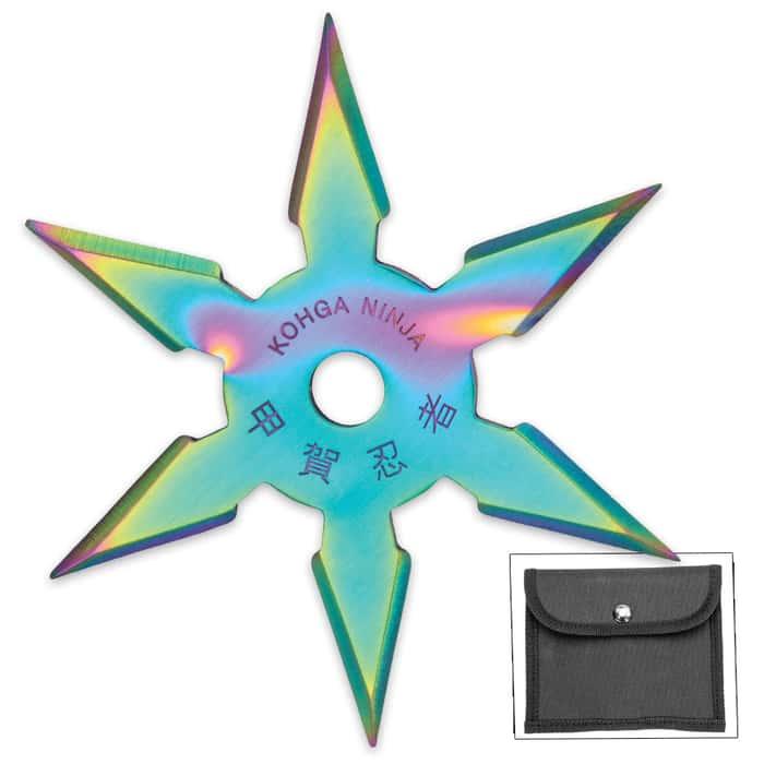 On Target Titanium Six-Point Ninja Throwing Star