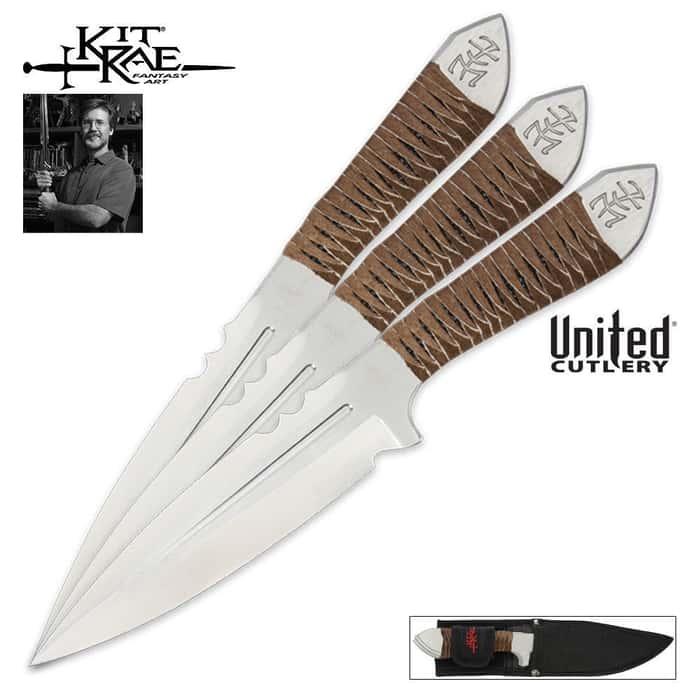 Kit Rae AirCobra Throwing Knives 3 Pack