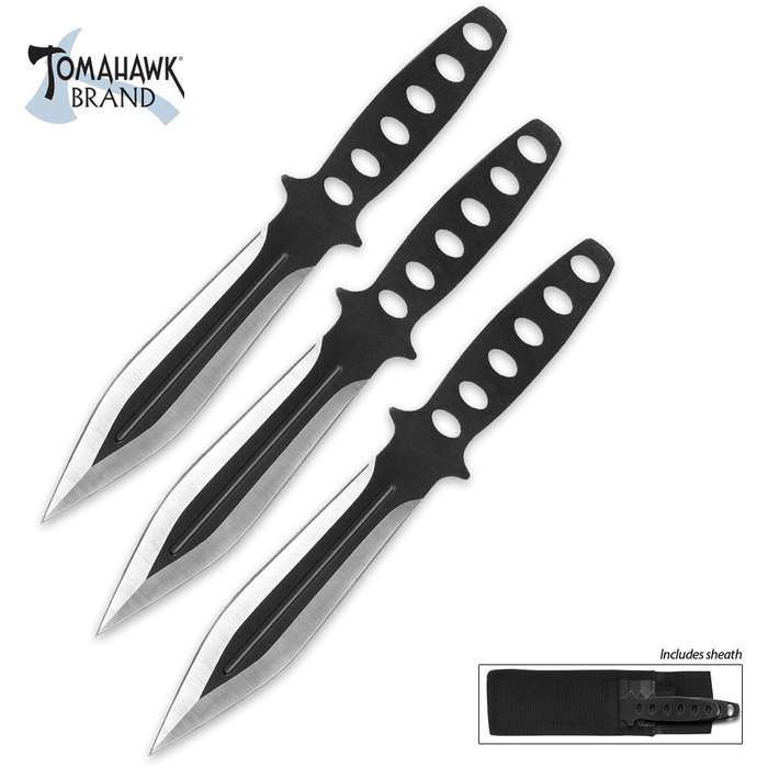Triple Threat Professional Throwing Knives 3 Pack