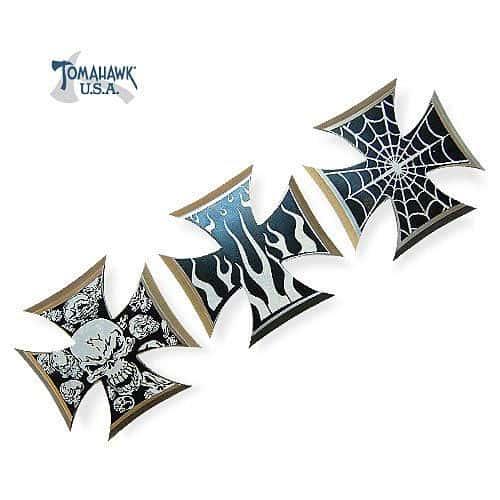 3 Piece Iron Cross Throwing Stars