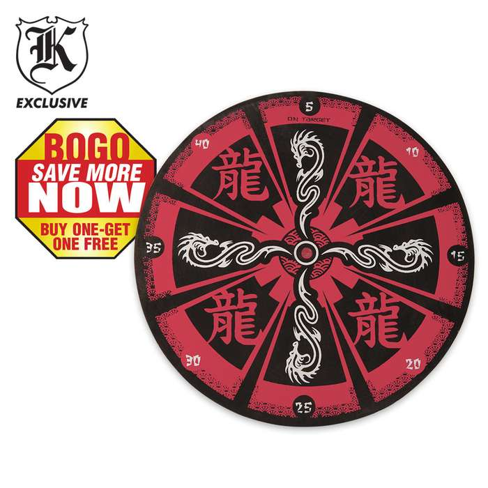 Red Dragon Target Board 2 for