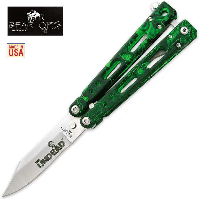 Bear Ops Bear Song IV 450 Butterfly Knife Reaper Z