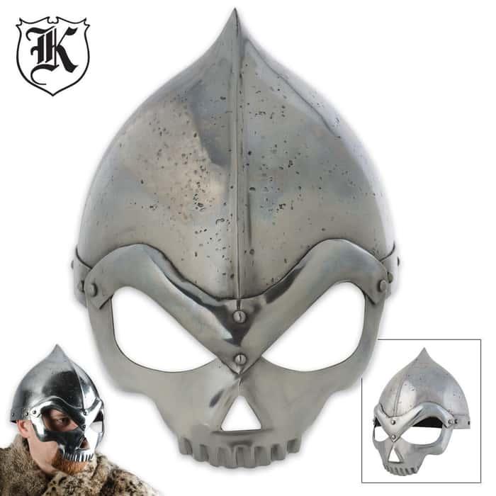 Historic Iron Crusader Collectible War Helmet