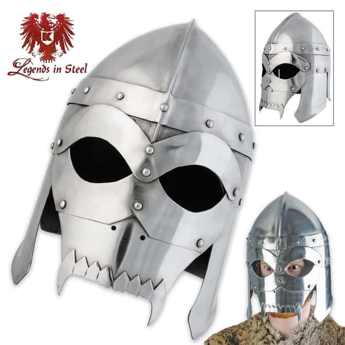 Legends In Steel Warrior Helmet