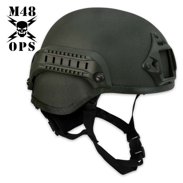 M48 Gear Tactical Base Jump Helmet Green