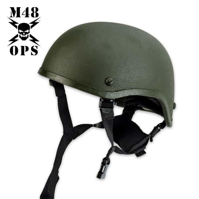 M48 Gear Tactical Mickey Helmet Green