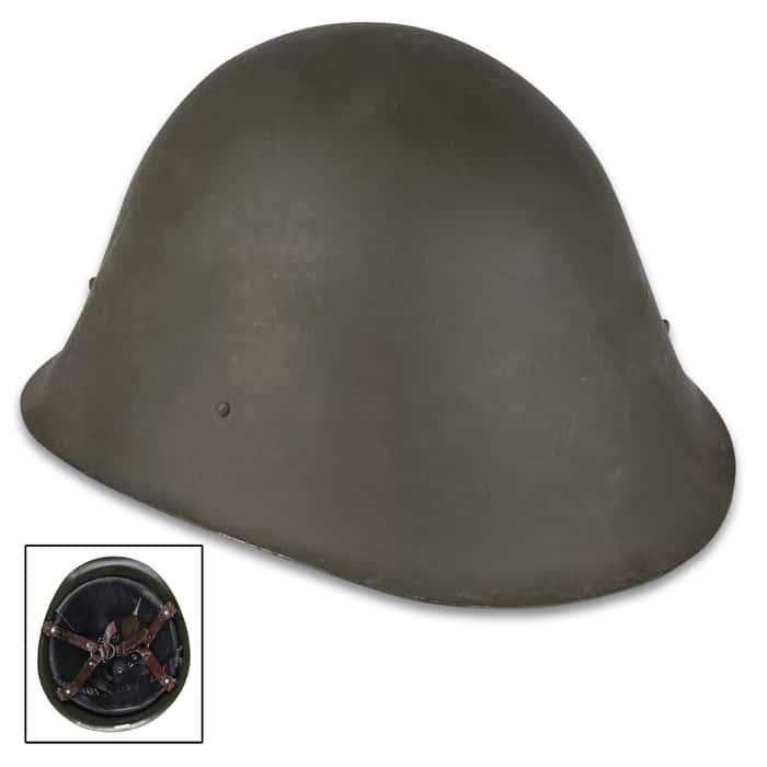 Romanian M73 steel helmet