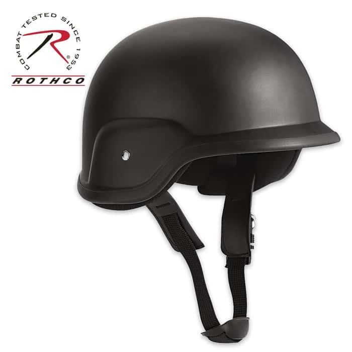 GI Helmet Black Large-1XL Large