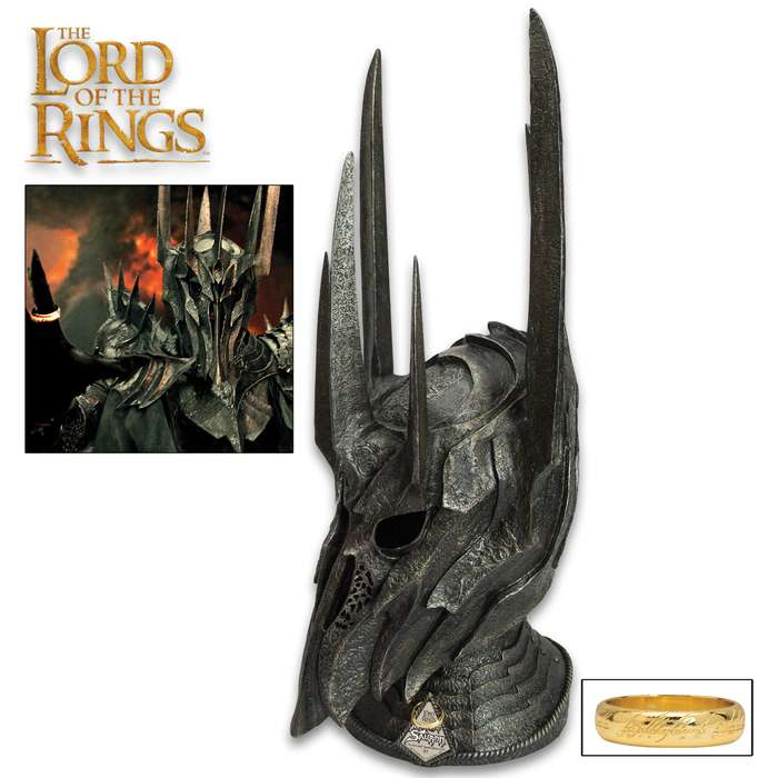 "This officially licensed replica has been meticulously recreated by United Cutlery to resemble the actual  film prop from ""The Lord of the Rings"" trilogy"