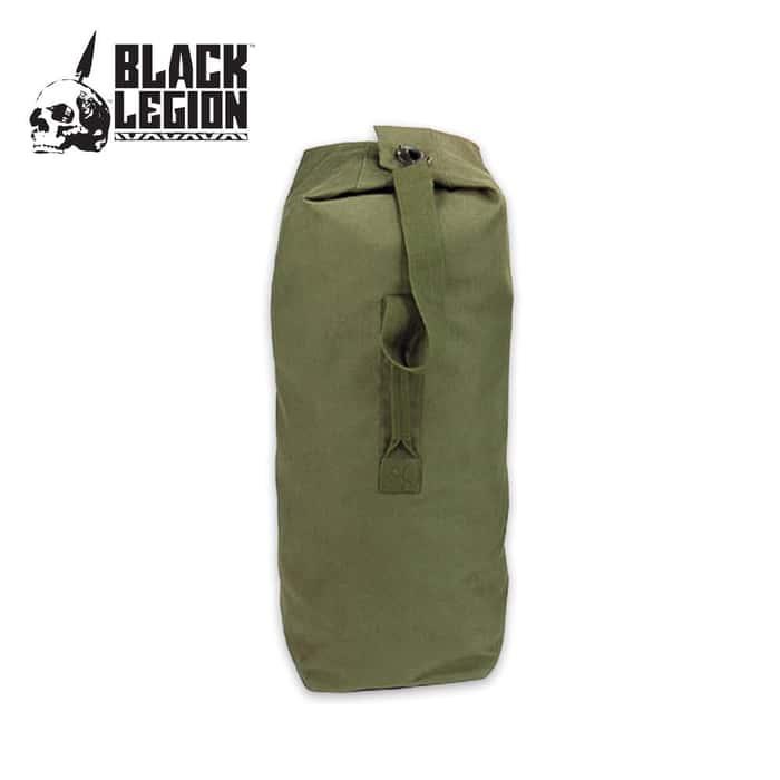 Black Legion Giant Single Strap Duffle Bag OD 30 x 50