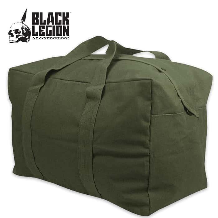 Black Legion Parachute Cargo Bag OD