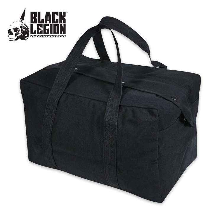 Black Legion Parachute Cargo Bag Black