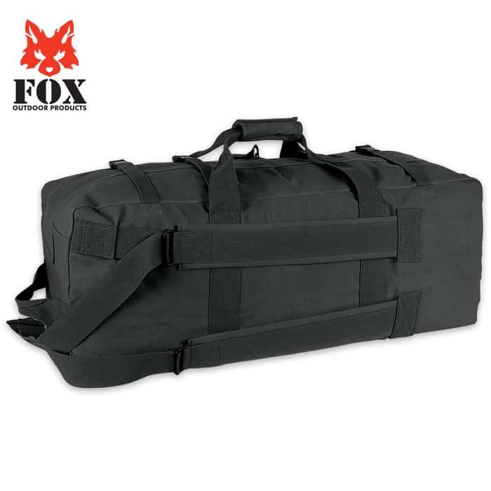 Gen II Two-Strap Duffel Bag - Black