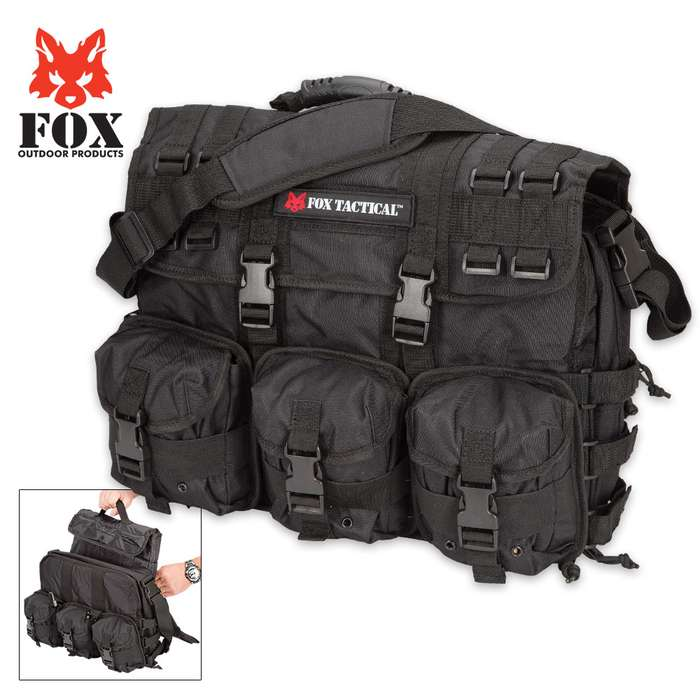 Fox Outdoor Products Tactical Field Briefcase