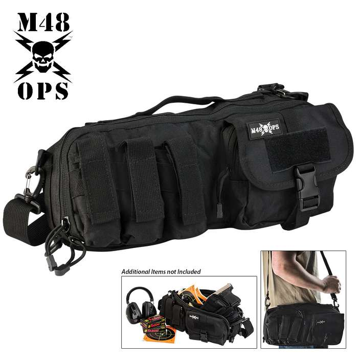M48 OPS Tactical Military Gun Range Carry Bag