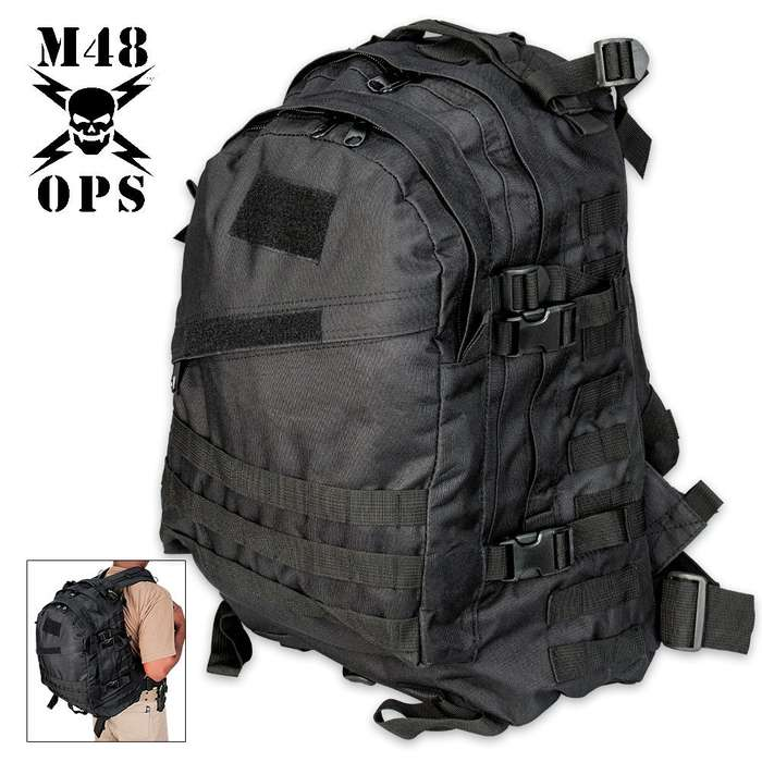 M48 OPS All-Purpose Backpack - Black