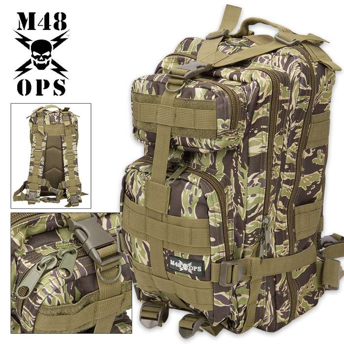 M48 OPS Tactical Assault Backpack
