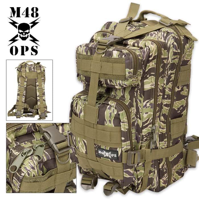 M48 OPS Tactical Assault Backpack