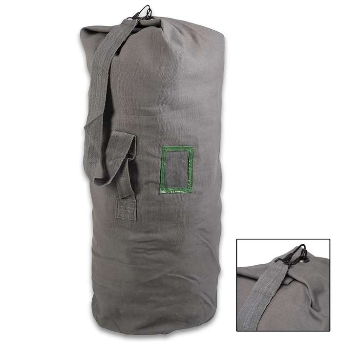 Our military surplus bag is perfect for carrying or storing all the gear that you need whether for camping or for bugging-out