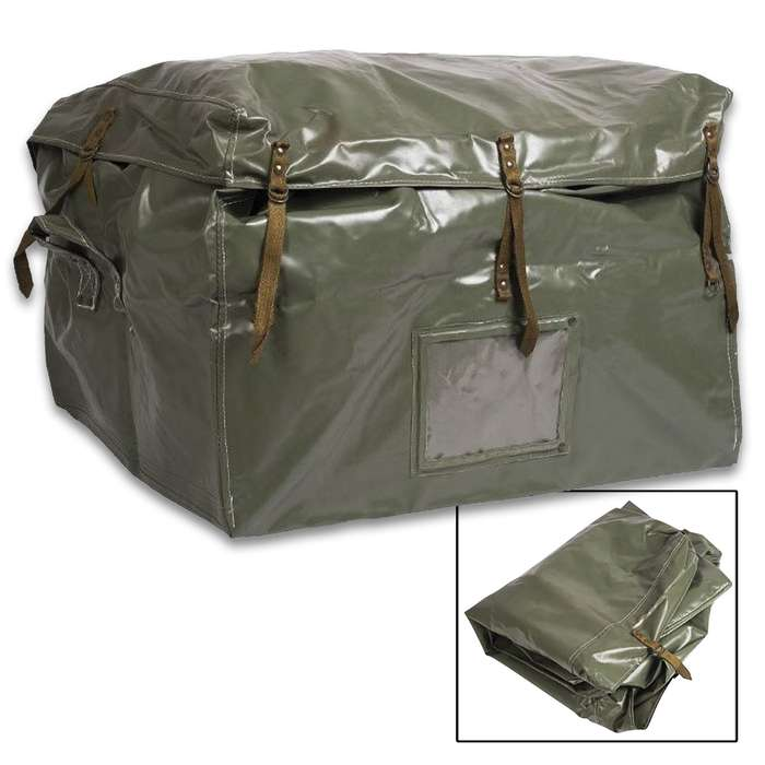 The spacious transport bag is perfect for storing your gear because its heavy-duty construction can really take a beating