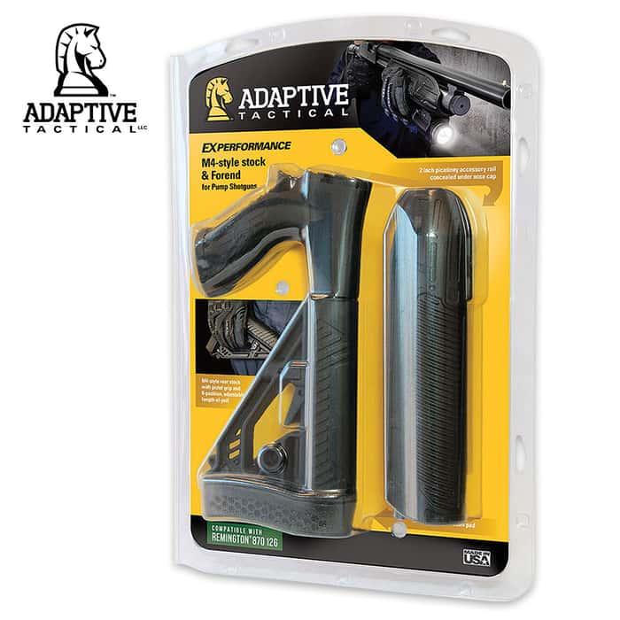Adaptive Tactical EX Stock Forend - REM 12-Gauge
