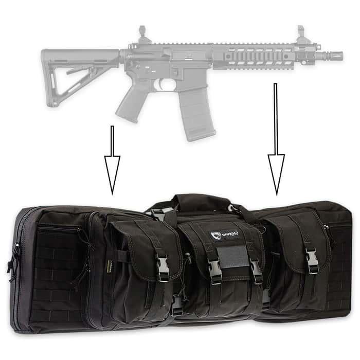 Drago Double Gun Case - 36-Inch
