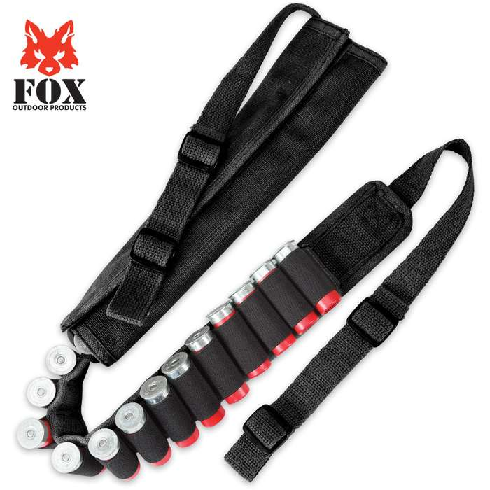 Fox Outdoor Products Canvas Gun Sling with Ammo Keepers