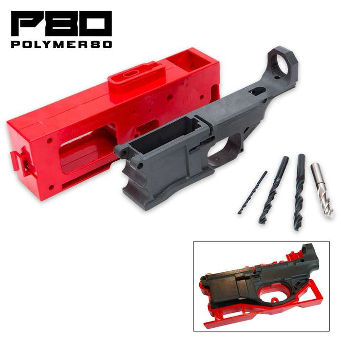 .308 80% Lower Receiver Kit And Jig - Polymer80