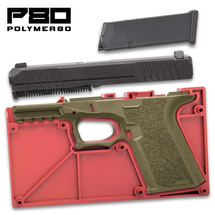 80% build kit OD green color