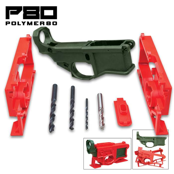 The Polymer80 G150 Phoenix2 is designed as an all-inclusive kit with no expensive jig kits and extra parts to purchase