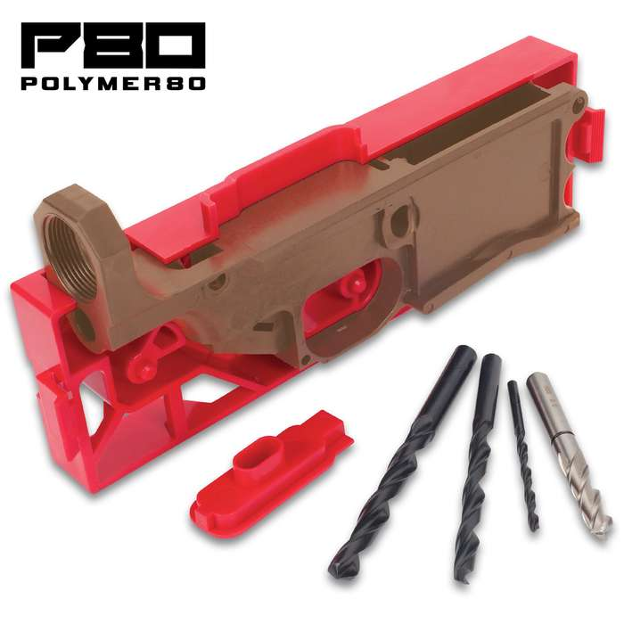 The Polymer80 Warrhogg 80% Lower Receiver features a rock solid frame, injection molded from a fully-automated system that was two years in the making