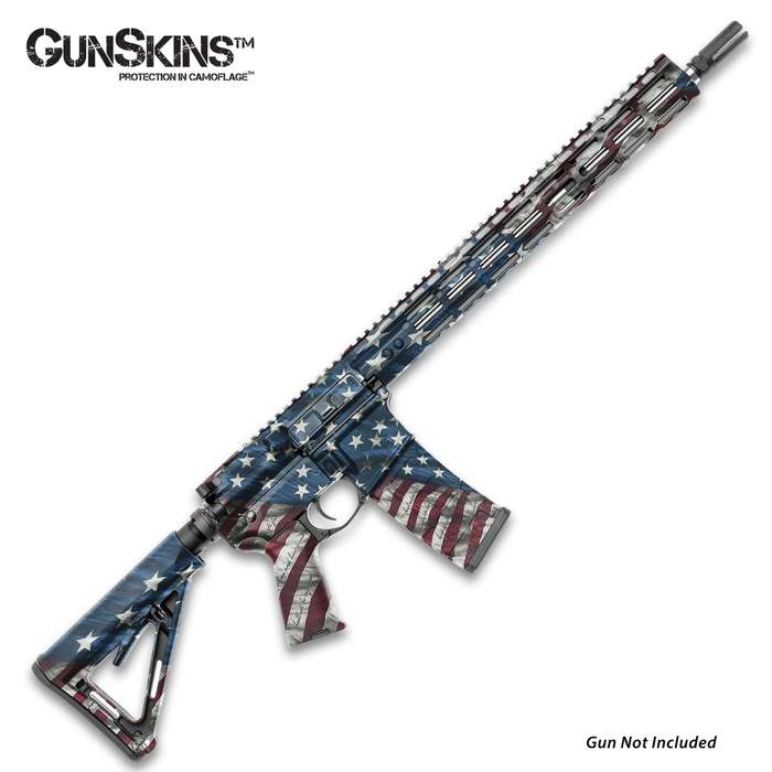 The GunSkins AR-15 Proveil Victory Rifle Skin allows you to conceal, protect, and customize your AR-15 or M4 carbine
