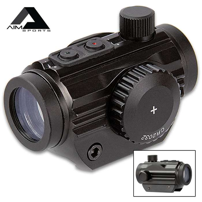 5-MOA Micro Dot Sight - CNC Machined Aluminum Construction, Dual Color, Water-Resistant, Unlimited Eye Relief