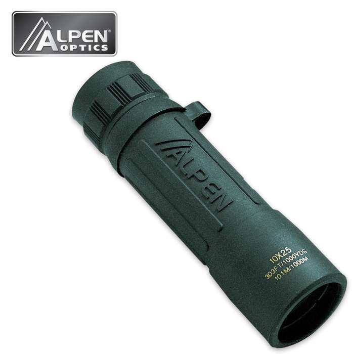 Alpen 117 Monocular 10x25