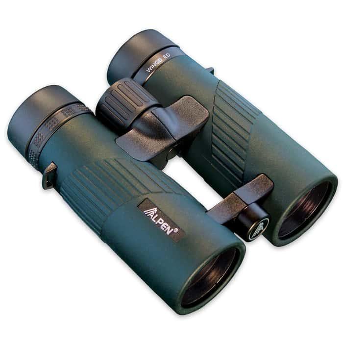 Alpen 10X42 Wings EDHD Glass Waterproof Binocular