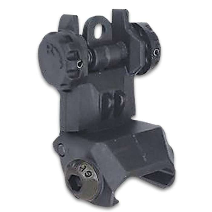 The XTS Flip-Up Rear Sight adheres in every way to the rigid quality standards required of all XTS brand tactical accessories