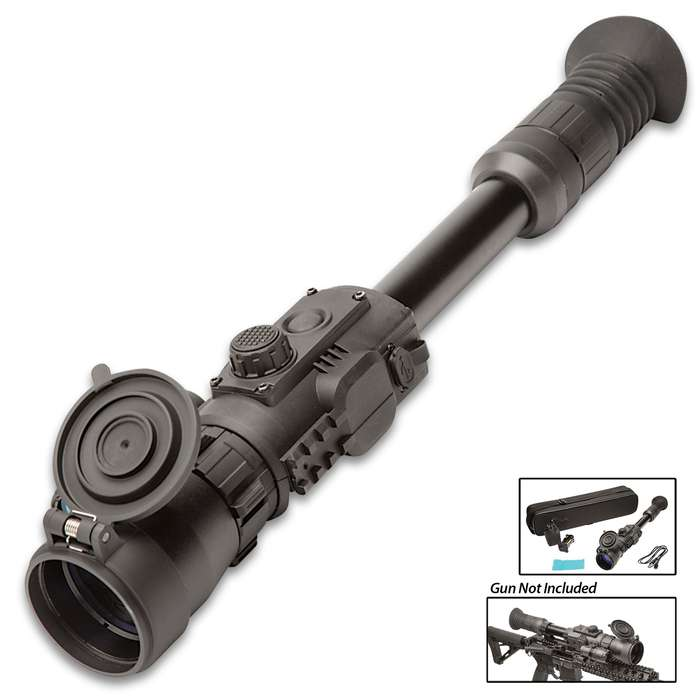 Sightmark Photon RT 6X50 Digital Night Vision Rifle Scope - Glass-Nylon Composite And Metal Construction, Water-Resistant, Weaver Mount, Video Recording
