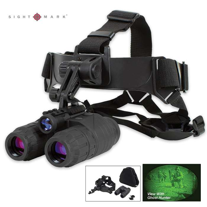 Ghost Hunter High Powered 1x24 Night Vision Goggle Kit