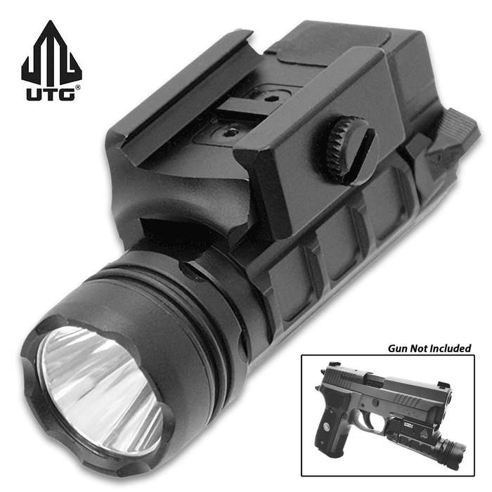 Giving you the best in Class 3V CREE LED technology, this pistol light casts just the right amount of identifiable light