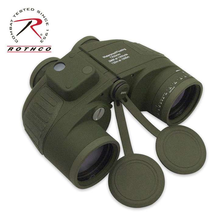 Rothco Tactical Military 7 X 50mm Binoculars OD Green